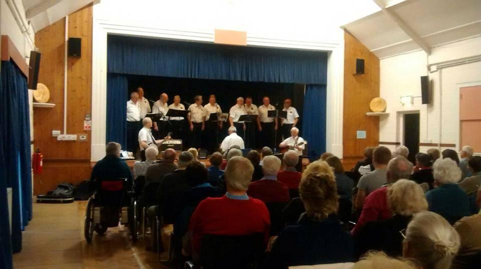 The Sheringham Shantymen in concert