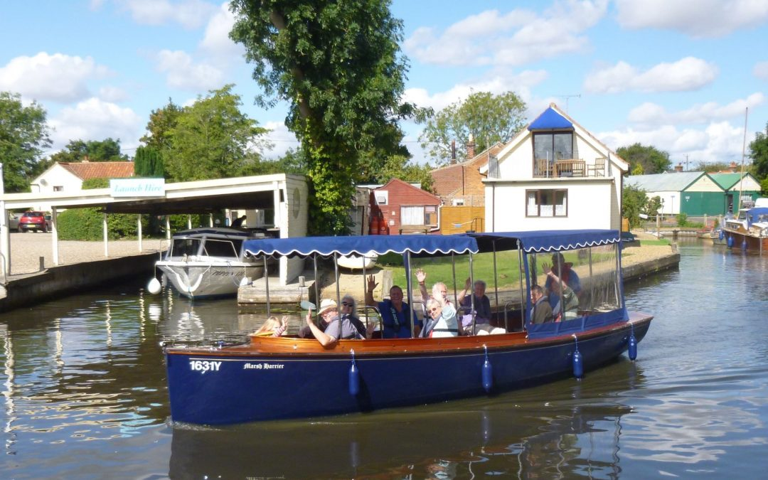 Taking Broads Heritage Visitors Afloat