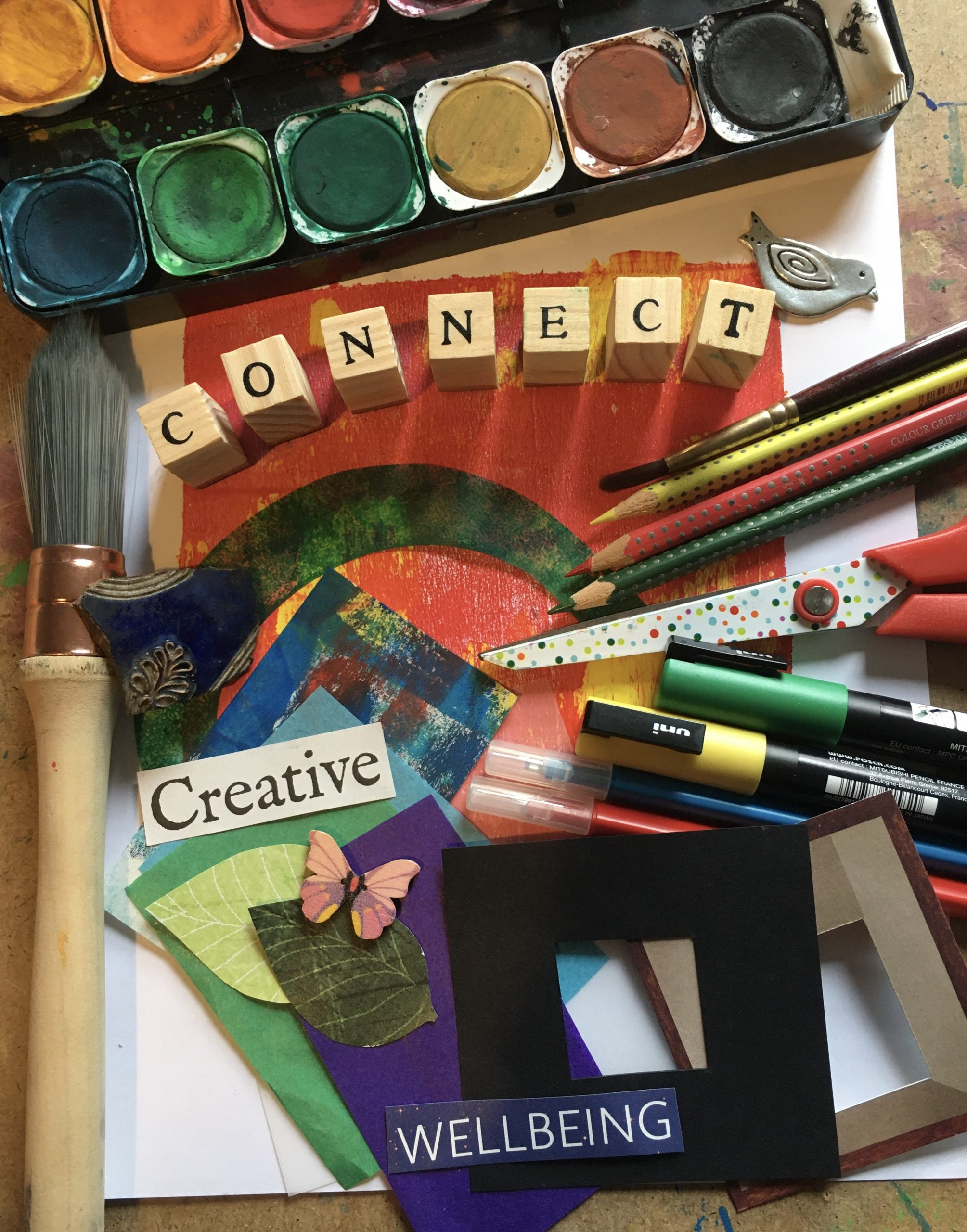 Adult Art Workshop - Creative Journaling