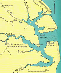 Map in Roman Times