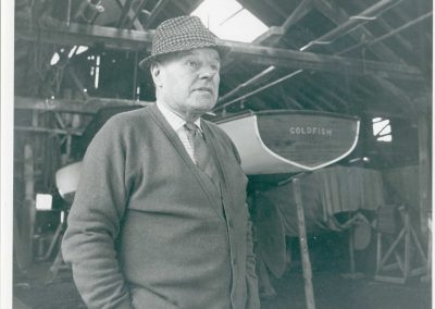 Boatbuilder Harry Last