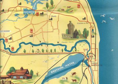 Blake's Tourist Map 1950s