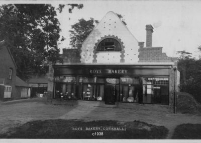 Roy's Bakery, Cotishall