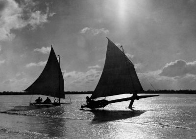 Ice Yachts on the Broads 1929
