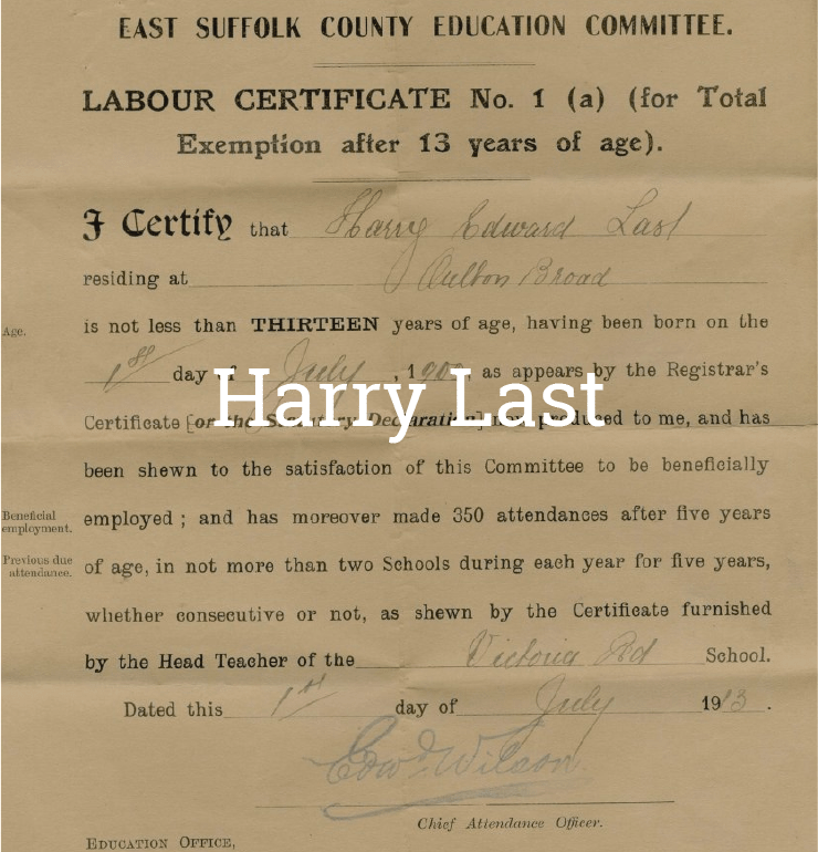 Harry Last